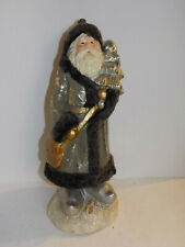 Santa Claus with Fit Tree Christmas Decoration Winter 45 18 18 CM