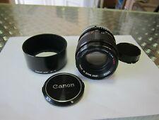 Canon FD 100mm 1:2.8 S.S.C.