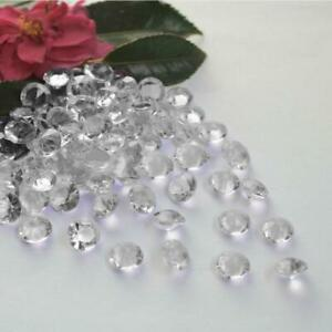 Diamond Confetti Clear Crystals Table Scatter Decoration Wedding Party Gem Lot