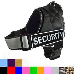 Padded Dog Vest Walking Harness Travel Seatbelt Non Pull Training Dog Harness