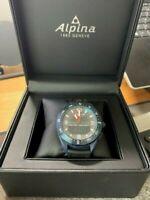 Alpina Alpiner X Smartwatch - AL-283KSCUSTOM - Blue - Black strap - 45 mm