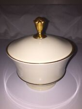 Lenox Covered Bowl 24kt Gold Decorated