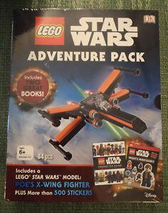 Lego Star Wars Adventure Pack Light/Dark Side Character Guide Book Model Sticker