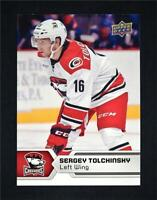 2017-18 17-18 UD Upper Deck AHL Hockey Base #69 Sergey Tolchinsky