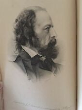 The Works of Alfred Lord Tennyson Poet Laureate Macmillan Co. 1898 Antique Book