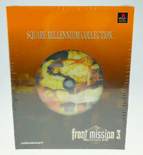 Front Mission 3 Square Millennium Collection Sony Playstation 1 psx ps1 SEALED