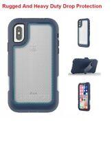 IPhone X Griffin Survivor Extreme Ultimate Drop Protection Cover Case|Blue