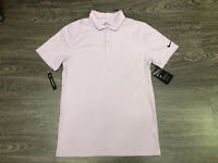 Mens Nike Golf Dri-Fit Victory Texture OLC Polo Shirt Lilac Mist NEW BV6912-543
