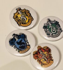 Harry Potter Pin Badge Gryffindor Hufflepuff Slytherin Ravenclaw All House Teams