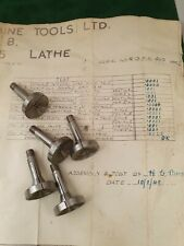 NOS 5et of  Concave Step Chucks for 8 mm Watchmakers Lathe, Watchmaking Tools