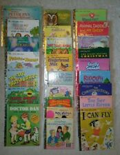 LITTLE GOLDEN BOOKS MY FIRST LOT OF 25 Kids Books VINTAGE Dr Dan I Can Fly BIG