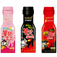 Samyang BULDAK SAUCE Original/Carbo Chicken/Extremely Hot Spicy Korean Food-200g