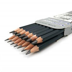Artist Professional Drawing Pencil Graphite Sketching 12B-6H Set Of 14