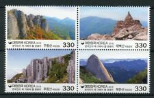 South Korea 2018 MNH Must See Tourist Destinations Pt4 4v Block Mountains Stamps