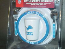 NFL Kids Dinner Set, Detroit Lions,  NEW