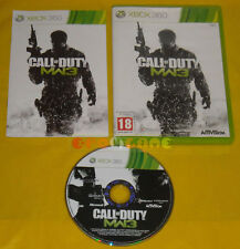 CALL OF DUTY MODERN WARFARE 3 XBOX 360 Versione Italiana MW COD 8 »»»»» COMPLETO