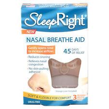 Sleepright Nasal Respira ayuda (3 Pack) de 45 días de suministro