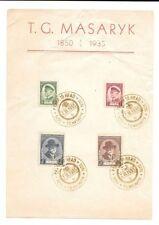 Used Czech & Czechoslovakian Postage Stamps