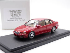 Me-Mod 1/43 1997 Cadillac Catera 3.0 V6 Resin Handmade Model Car Red