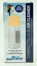 NEW AIR INNOVATIONS IONIC AIR CLEANER FRESHENER ALLERGY ODORS & NIGHT LIGHT