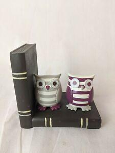 Ceramic Owl Bookend