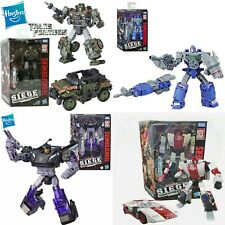 Transformers WFC Deluxe Barricade, Refraktor, Hound, & Red Alert figure Set