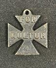 "WW1 Bombardment of British East Coast Propaganda ""For Kultur"" Iron Cross Medal"