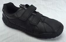 Clarks Boys School Stomp Roar Jnr Leather Shoes in Black 2.5 F