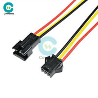 2/5/10Pairs SM 3Pins JST 3mm Male to Female Plug Wire Connector 15cm Long