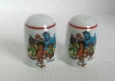 Rare Reutter Disney salt & pepper shakers pots Aladdin West Germany