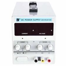 DC 30V 10A Variable Dual Adjustable Lab Bench Power Supply Precision LED 220V UK
