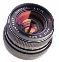 Carl Zeiss Pentacon 29 mm f 2,8 RED MC mit M42 Anschluss SN:8013063 / 625