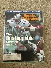 FM6-23 Sports Illustrated Magazine COWBOYS EMMITT SMITH 1-31-1994