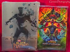 Black Panther 3D + Blu-ray Limited Edition Steelbook Import + Bonus Art Cards *