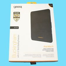 Gear4 Buckingham Apple iPad Mini 4 D3O Slim Impact Protective Case Cover -Black