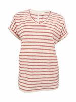 Style & Co. Women's Plus Size Dolman-Sleeve Striped Top