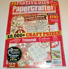 PaperCrafter Magazine Issue 140 Festive Dies & Christmas Papers 2019 SEALED