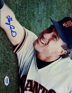 Gary Carter Giants Psa/dna Signed Original Image 1/1 8x10 Photo Autograph