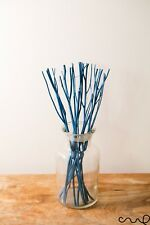 Turquoise12g Wooden Branch Diffuser Reed Refill Sticks 24cm Natural Twig Replace