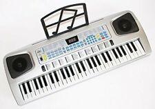 Keyboard  für Kinder 54 Tasten mit Mikrofon, Netzteil, Notenauflage
