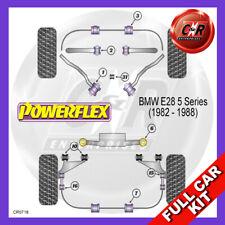 BMW E24 6 Series (1982 - 1989) Non Adjust Powerflex Complete Bush Kit