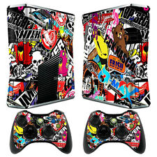 Bomb Graphics II 7 Decal Sticker Cover For xbox360 slim Console&Controller Skins