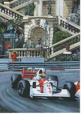 Ayrton Senna, Monaco GP 1992 art print