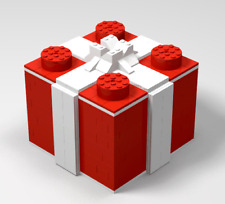 Lego Custom Holiday Christmas Present Box - PDF INSTRUCTIONS ONLY