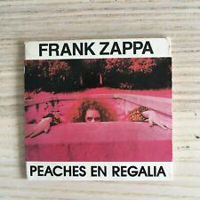 """Frank Zappa - Peaches En Regalia -  mini CD 3"""" 3 Tracce - Ryko 1987"""