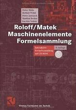 Roloff/Matek Maschinenelemente Formelsammlung: Interakti... | Buch | Zustand gut