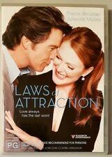 Laws Of Attraction (Pierce Brosnan & Julianne Moore) DVD (Region 4)