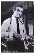 "MOVIE POSTER~Sean Connery James Bond 24x36"" Dr. No 1962 Smirnoff Vodka Martini~"