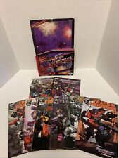 Transformers Armada #1 And 2 And Transformers 1-6 Also 1983 Sticker Book DW 2002