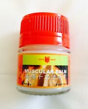 EAGLE BRAND MUSCULAR BALM Muscle Joint Pains Aches Relief Warm Rub 20g MENS WOME